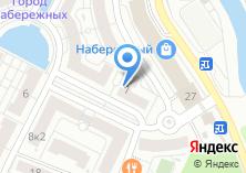 Компания «Город набережных» на карте