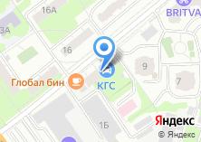 Компания «Комас» на карте