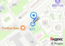 Компания «Комас Тур» на карте