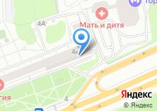 Компания «Регата» на карте