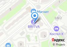 Компания «Инвест-станко металлорежущие станки» на карте