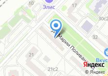 Компания «Магазин хозяйственных товаров на ул. Марии Поливановой» на карте