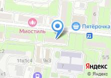 Компания «Участковый пункт полиции район Покровское-Стрешнево» на карте