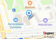 Компания «Кутузов Тауэр - бизнес центр» на карте