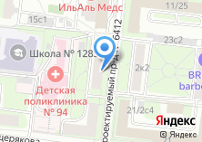 Компания «Покровское-Стрешнево» на карте