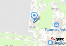 Компания «БЕЛОРХИМТОРГ» на карте