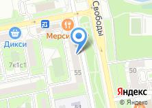 Компания «Магазин овощей и фруктов на ул. Свободы» на карте