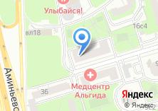Компания «МАНОНИ» на карте