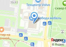Компания «Мебельюниверс» на карте