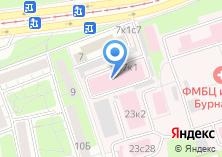 Компания «Медстар» на карте