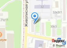 Компания «Юнова» на карте