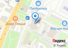 Компания «Сенсация» на карте