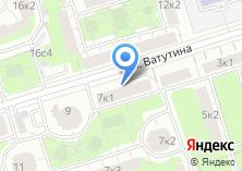 Компания «Парикмахерская на ул. Ватутина» на карте