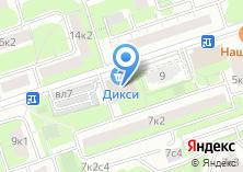 Компания «Магазин канцтоваров на Инициативной» на карте