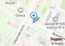Компания «Тренер-Фигурное катание Щукинская» на карте