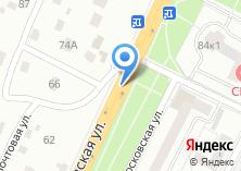Компания «Чеховская городская похоронная служба» на карте