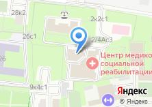 Компания «Центр восстановительной медицины и реабилитации Департамента здравоохранения г. Москвы» на карте
