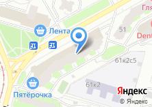 Компания «Стройцентр» на карте