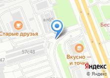 Компания «Манеж» на карте