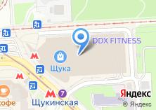 Компания «Снежная Королева» на карте