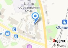 Компания «Продуктовый магазин №46» на карте