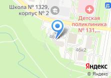 Компания «Муниципалитет внутригородского муниципального образования Тропарево-Никулино» на карте
