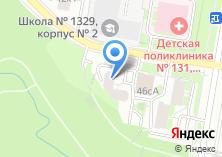 Компания «Мировые судьи района Тропарево-Никулино» на карте