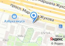 Компания «Superfitness Company» на карте