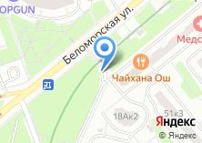 Компания «Беломорская» на карте