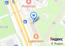 Компания «Ателье по ремонту одежды на Ленинградском шоссе» на карте