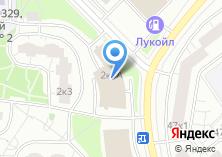 Компания «Автомойка на ул. Академика Анохина» на карте