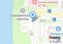 Компания «Спорт-бар на Филёвской» на карте