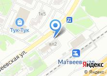 Компания «Секонд-хенд на Матвеевской» на карте