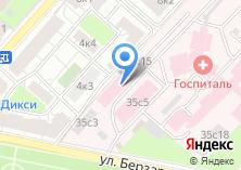 Компания «Главный клинический госпиталь МВД РФ» на карте