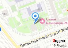 Компания «Бунинские луга» на карте