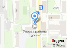 Компания «Управа Щукинского района» на карте