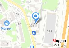 Компания «Строящееся административное здание по ул. Пожарского (г. Химки)» на карте