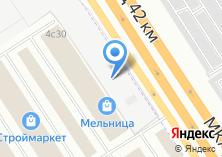 Компания «К-М» на карте