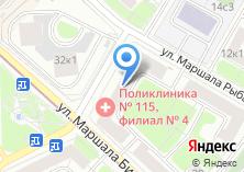 Компания «Городская поликлиника №173» на карте