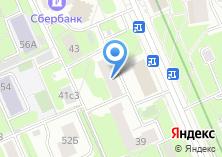 Компания «Новые обои» на карте