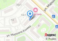 Компания «Януля» на карте