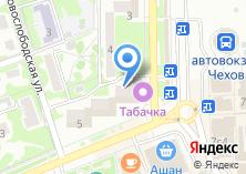 Компания «Магазин цветов на ул. Чехова» на карте