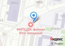 Компания «Молочно-раздаточный пункт №9 Детская поликлиника №119» на карте