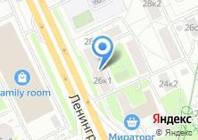 Компания «Experience-adv» на карте