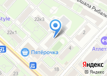 Компания «Московский правовой центр» на карте