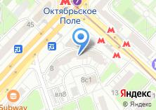 Компания «Ремонт окон Октябрьское Поле» на карте