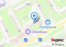 Компания «Почтовое отделение №142121» на карте