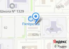 Компания «ЕИРЦ района Проспект Вернадского» на карте