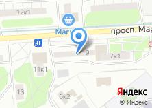 Компания «Почтовое отделение №123308» на карте