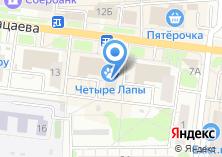 Компания «Магазин мебели и светотехники» на карте